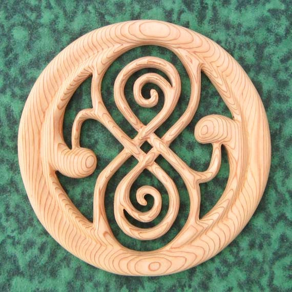 Seal Of Rassilon Time Lord Symbol Of Power Artifact Of Etsy