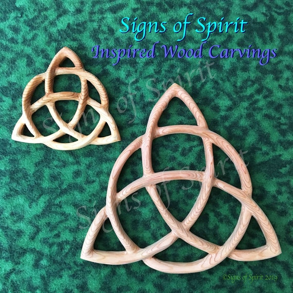 12 X 12 Maiden Mother Crone STENCIL Wiccan Quote w//triquetra//Triple Goddess