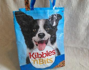 Dog, feed sack, tote, bag
