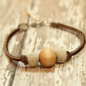 genuine suede teens kids toddlers Essential Oil Diffuser Bracelet aromatherapy natural diffusing jewelry adults