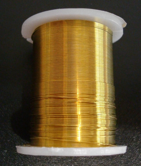 bright gold! Beautiful 16 Gauge Beadsmith Gold Non-Tarnish Craft Wire 15 Feet