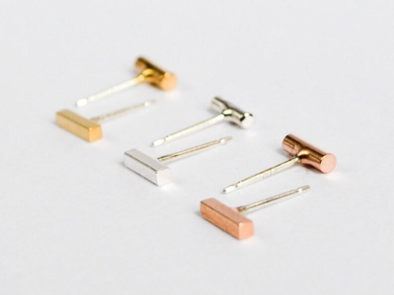1c47d24b14d Asymmetrical Bar Stud Earring Set Mix n Match Studs