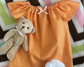 "American Girl 18"" Doll Nightgown Set, Playful Owls"
