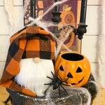 Halloween Check Gnome, Boy or Girl