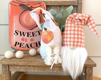 """Wholesale 6 Pack-6"""" Sweet Peach Gnome"""