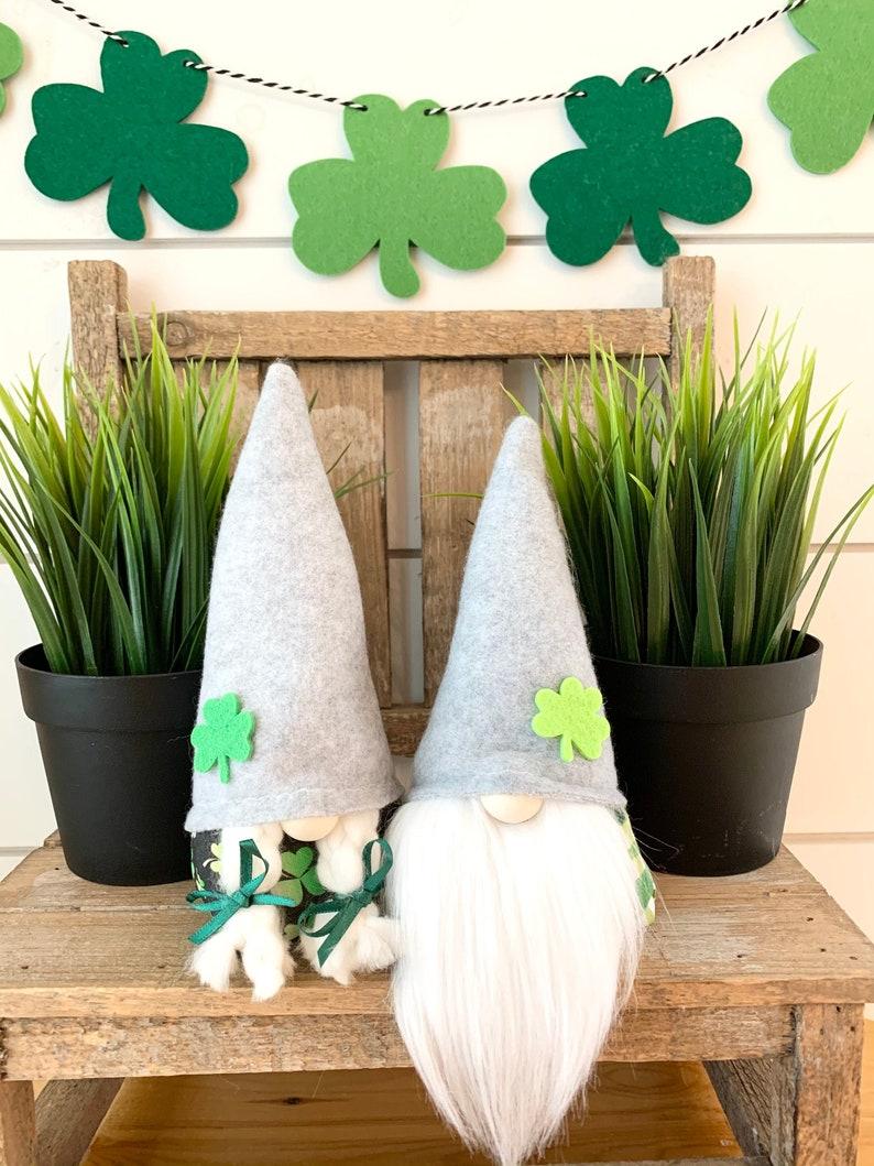 7 Mini St.Patricks Day Gnome Boy or Girl image 0