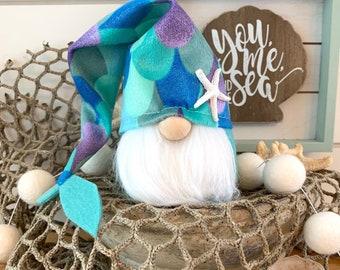 "Wholesale 6 Pack-6"" Mini Slouch Mermaid Gnome"