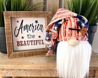 "Wholesale 6 Pack-6"" Mini Americana Gnome"