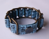Blue Tape Measure Bracele...
