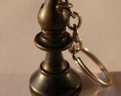 Chess piece keychain - Bl...