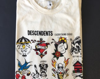 descendents tattoo shirt - Descendents Christmas Sweater