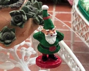 Miniature Gnome, Mini Gnome Figurine, Dollhouse Decor, Dollhouse Miniature, 1:12 Scale, Dollhouse Accessory, Mini Home & Garden Decor