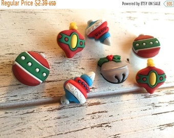 "SALE Christmas Ornament Buttons, Packaged Novelty Button Assortment ""Tree Trimmers"" Style #4777 by Buttons Galore, Sewing, Crafting Buttons"