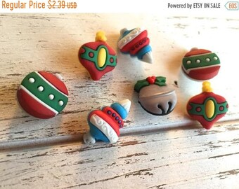 """SALE Christmas Ornament Buttons, Packaged Novelty Button Assortment """"Tree Trimmers"""" Style #4777 by Buttons Galore, Sewing, Crafting Buttons"""