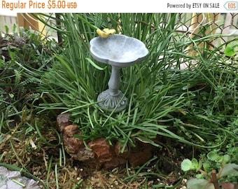 SALE Mini Curved Stone Wall, Mini Wall Pick, Fairy Garden Accessory, Home and Garden, Terrarium, Topper, Embellishment