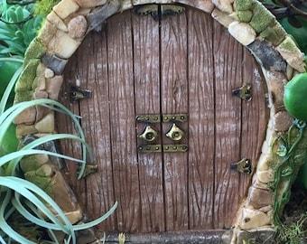"""SALE Beautiful Fairy Door, """"Enchanted"""" Style #48, Fairy Garden Door, Miniature Home & Garden Accessory, Mini Door"""