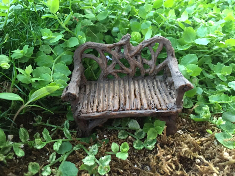Pleasing Mini Twig Bench Fairy Garden Accessory Garden Decor Park Camellatalisay Diy Chair Ideas Camellatalisaycom
