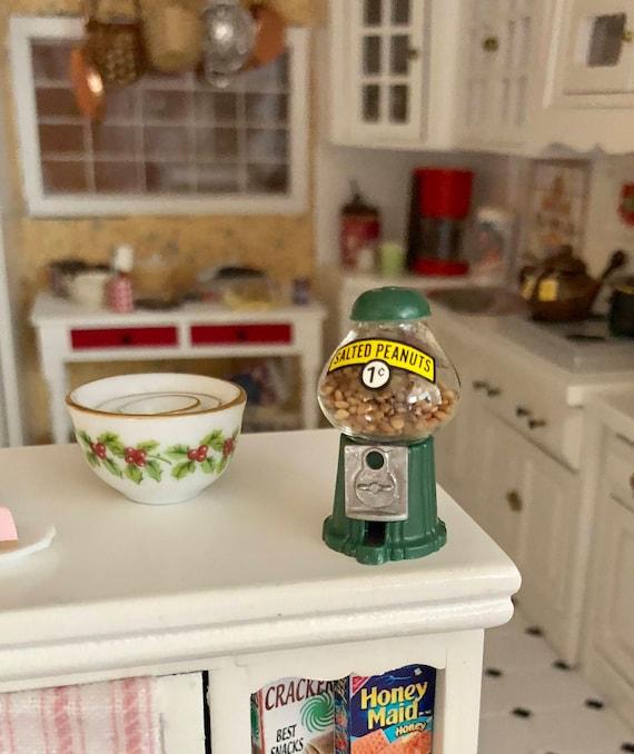 Dollhouse Miniature Table Top Peanut Machine 1:12 Scale