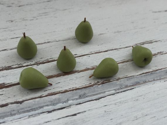 Dollhouse Miniature Set of Pears