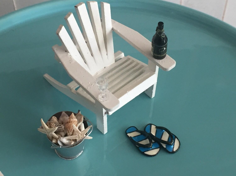 Miniature Flip Flops Blue And White Stripe Flip Flop Shoes Sandals