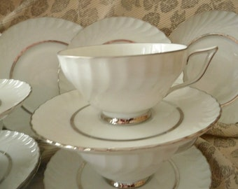 Royal Tettau set of 3 mini old car ashtray bowls dishes porcelain ceramic china 1896 1898 1906 Ford First Franklin Winter cars rectangle