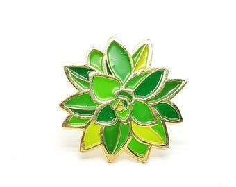 Lapel Pin - Sassy Succulent