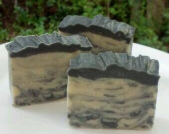 Polo Black Type Handmade Soap Chunky Guest Bar