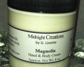 Hand and Body Cream with Shea 8 oz - Choose your fragrance