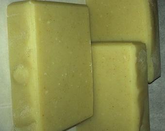 Lemongrass Lavender Peppermint Handmade Soap