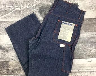 Dżinsy Vintage NOS Store Stock Pointer Brand Denim Carpenter