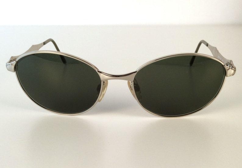 bfd3b4f3233 Vintage 1990s Oval YSL Sunglasses Vintage Yves St Laurent | Etsy