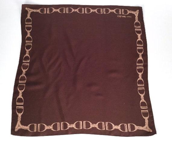Foulard de Mens poche des années 90 Celine foulard mouchoir   Etsy 4c664244e00