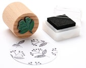 Mini Stamp ELDERFLOWER, plant Stamp, flower Stamp, Deco Stamp, Stamp for Gift Tags, Wooden Stamp, Buju Stamp, Stamp Place Cards & Hang Tags
