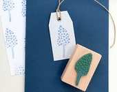 Mini Stamp, Hyacinth, Rubber Stamp, Spring Stamp, Leaf Stamp, Flower Stamp, Twig Mini Stamp, Buju Stamp, Stamp for Gift Tags, Wooden Stamp