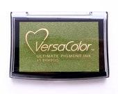 Ink pad Bamboo VersaColor, green ink pad, Ink Pad Large, Rubber Stamp Ink, Ink Pad Bamboo, Versa-Color, No. 69, bamboo green, pigment ink
