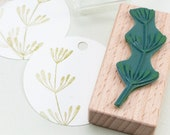 Rubber Stamp Dill, stamp for the kitchen, Dill twig, Dill Stamp, Kitchen Stamp, Herb Stamp, Dill plant, Botanical Stamp, Label Stamp