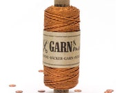 Bakers twine COPPER, twine for giftwrapping, copper Twine, Garn & mehr, twine for tassels, decorating, pocketfold, party favors