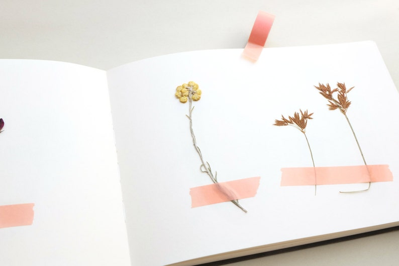Beautiful herbarium, flower press by Studio Karamelo on Etsy.