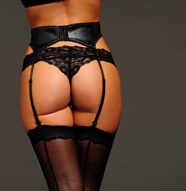 Sexy Black Lingerie Panties Lace Tanga Thong  fa66e34e6