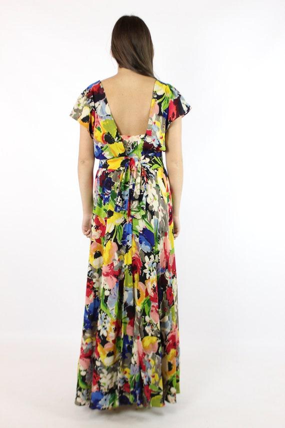 Vintage 40's Ceil Chapman Dress Earliest Label 19… - image 7