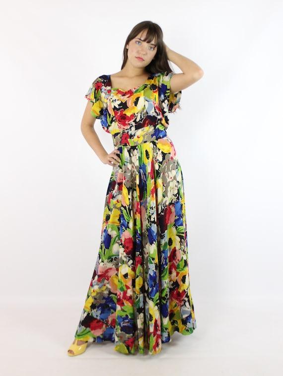 Vintage 40's Ceil Chapman Dress Earliest Label 19… - image 3