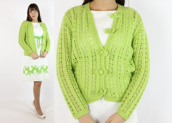 Vintage 60's Lilly Pulitzer Cardigan Sweater 1960'