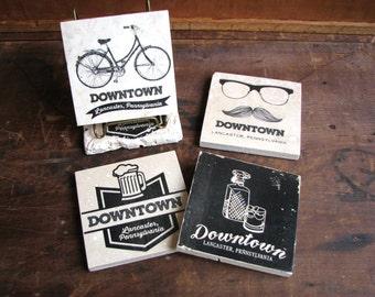 "Downtown Lancaster Tile, 4""x4"" (Choose your style)"