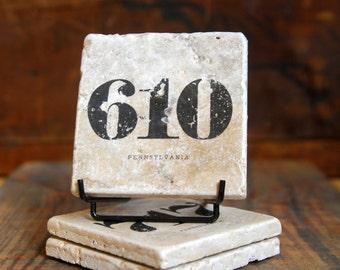 610 Area Code Tile