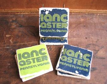 """Lancaster """"Disco"""" Tile, 4""""x4"""" (Choose your color)"""