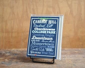 Lancaster City Neighborhoods - 8 Card Pack