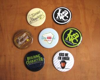 Downtown Lancaster Button (Choose a Style)