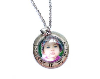 Custom Photo Necklace / Photo Pendant Necklace / Picture Necklace / Photo Pendant / Picture Jewelry / Photo Jewelry / Personalized Necklace