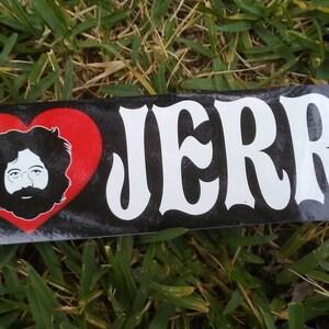 Window Sticker Vintage Dead Captain Trips Vintage Jerry Jerry Garcia sticker Deadhead sticker Warlocks Touch of Grey Bob Weir JGB