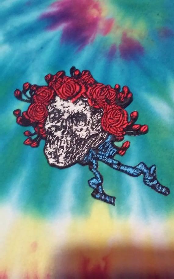 Bertha Grateful Dead Bertha Skull /& Roses Bertha Patch Dead and Company FREE Shipping Bob Weir Jerry Garcia Patch
